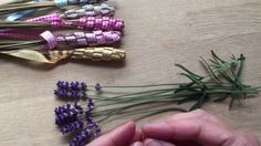 How to make Woven Lavender Wands (Tutorial)