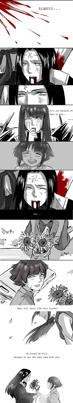 Why you gotta do this to my feels!? ;___; RIP Neji. We'll never forget you....