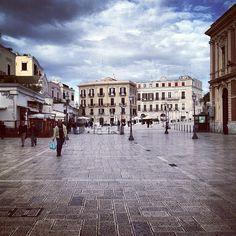 Piazza del Ferrarese in Bari, Puglia