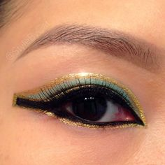 Cleopatra Egyptian inspired makeup
