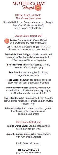 father's day buffet menu ideas