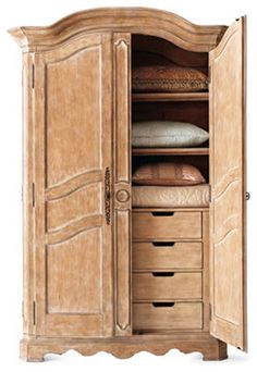 1000 images about master bedroom on pinterest traditional dressers armoires and bedroom vanities for Master bedroom set with armoire