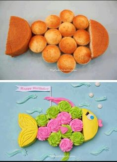 DIY fish cake! Great for birthday parties