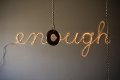 Reflections on year of enough in 2013: not less than, not more than.