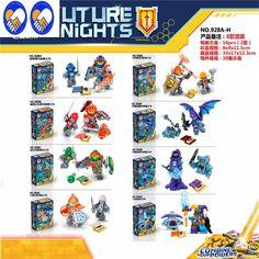 A Toy A Dream 8pcs New Nexus Knights Nexus Powers Pouvoirs Building blocks set Action Magic Book Clay Figures Bricks Toy #Affiliate