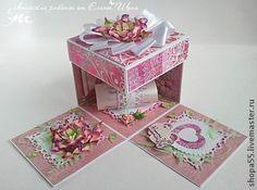 Конверты для денег ручной работы. Ярмарка Мастеров - ручная работа Свадебная коробочка для денег  Magic Box. Handmade.