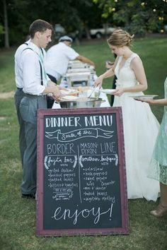 Buffet de boda