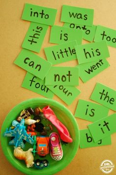 sight word flash card reading game
