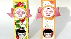 Stampin' Up! Homemade For You Fruit Stand Jam Box