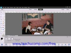 Learn about the straighten tool in Adobe Photoshop Elements at www.teachUcomp.com. A clip from Mastering Photoshop Elements Made Easy v. 12. http://www.teachucomp.com/free - the most comprehensive Photoshop Elements tutorial available. Visit us today!