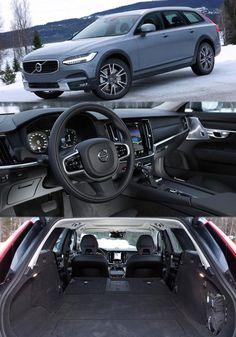 How the Jacked-up Volvo V90 Cross Country Estate Performs in Snow? More Details at: http://autoegroup.blogspot.com/2017/02/how-jacked-up-volvo-v90-cross-country.html