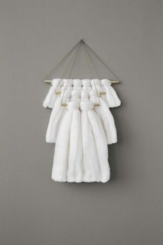 Wall Hanging Elkeland Large White