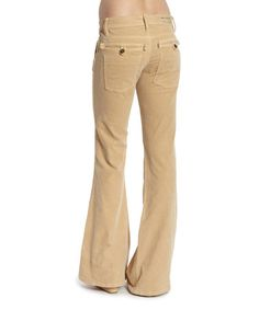 Look at this #zulilyfind! Camel Skinny Flare Pants by Jimmy Taverniti #zulilyfinds