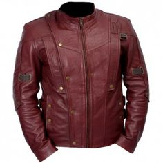 New Guardians Of The Galaxy Chris Pratt Genuine Leather Jacket
