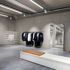 Studio Jos van Dijk creates minimal concrete interior for ETQ Amsterdam store