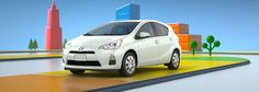 The Prius C is my commuter car - it's like driving an iPad.