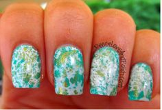 Peace, Love and Polish: Twinsie Tuesday: Something New - Water Spotted!