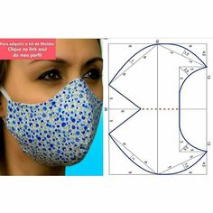 Sewing Basics, Sewing Hacks, Sewing Tutorials, Sewing Crafts, Easy Face Masks, Diy Face Mask, Mouth Mask Fashion, Small Sewing Projects, Fashion Sewing