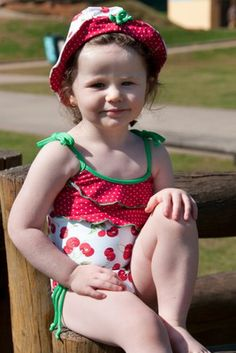 Now 50% OFF, only $23 Cherry Pie Baby/Toddler One Piece - Lemons & Limes Kids Swimwear #cherry #babyswimsuit #toddlerswimsuit #toddleronepiece #babyswimsuit #babyonepiece #babycherryswimsuit #polkadots