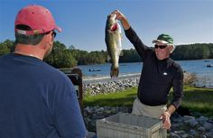 Bass fishing at Dreher Island State Park.  30 miles from Columbia.  Lake Murray - one of the best known largemouth and striped bass fishing destinations in the south.