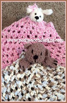 5240df8930f Posh Pooch Designs Dog Clothes  The Fuzzy Blanket Lovey Bear Crochet Pattern