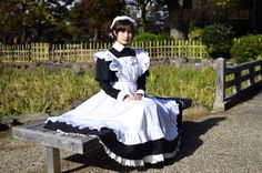 Victorian Maid, French Maid Dress, Petticoated Boys, New Outfits, Fashion Outfits, Female Pose Reference, Maid Cosplay, Maid Uniform, Maid Outfit