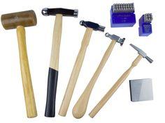 Kit de marteaux, maillet et poinçons