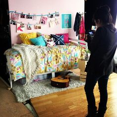 Behind the scenes at the photo shoot for the collection! Obsessed. #Dormify #ardenflower #dorm #decor