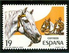 sellos de caballos [stamps of horses]