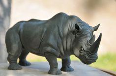 Rhino sculpt by Heliot8.deviantart.com on @deviantART