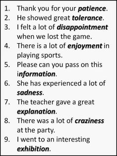 WORD ENDINGS (Nouns) 2-2