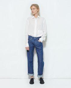 YOHJI YAMAMOTO | Denim Pants | Shop at La Garçonne