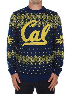 Men's Cal Berkeley Sweater: Small Tipsy Elves  #Christmas #gifts click to get more information or how to purchase.