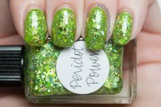 Lynnderella nail polish manicure peridot power illamasqua nurture