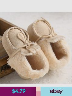 Baby Shoes Baby Toddler Infant Girl Boy Snow Boots Shoes Flock Pre-Walker  Crib First Walker 22b35b6465fe