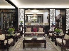 Photo gallery of Asian Themed Living Room
