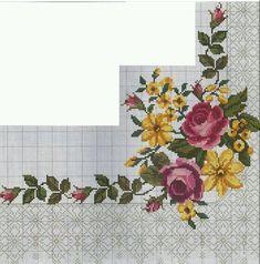 Cross Stitch Rose, Cross Stitch Flowers, Needlework, Embroidery, My Favorite Things, Pattern, Jewellery, Cross Stitch House, Cross Stitch Love