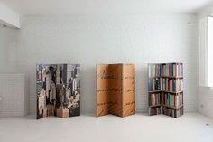 TRIPLE paperboard screens by Gloook - design Objmao