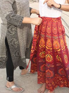 e00e3f1a78c Indian Mandala Wrap Round Mandala Skirt Indian Skirt