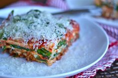 Get this tested recipe for fresh gluten free lasagna noodles—including step by step photos and instructions!