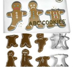 Funny Gifts: ABC COOKIE CUTTERS