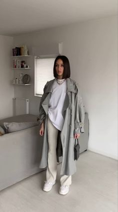 Winter Fashion Outfits, Look Fashion, Spring Outfits, Looks Street Style, Looks Style, Cute Casual Outfits, Chic Outfits, Vest Outfits, Mode Lookbook