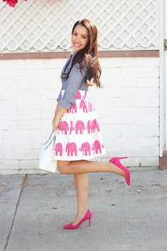 Little bit bold with the elephants, but I still love it!