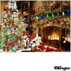Animated Betty Boop Christmas