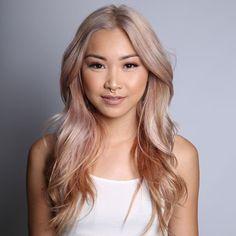 Beautiful Rose Gold Blonde