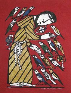 Sadao Watanabe, St Francis and the birds