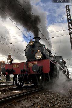 The 'Doctor Zhivago' locomotive.