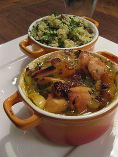 Kip stoofpotje met couscous
