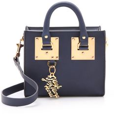 Sophie Hulme Box Tote Bag ($585) ❤ liked on Polyvore featuring bags, handbags, tote bags, french navy, zip top leather tote, navy tote bag, navy blue leather purse, navy leather tote bag and genuine leather handbags
