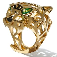 Cartier Panther Ring - Cartier 100th Anniversary Panther Collection - Harper's BAZAAR Magazine
